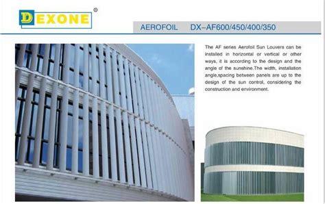 exterior aluminum sunscreen louver  construction