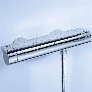 Grohe Grohtherm 2000 Thermostat Wannenbatterie : grohe grohtherm 2000 robinet de douche thermostatique avec ~ Watch28wear.com Haus und Dekorationen