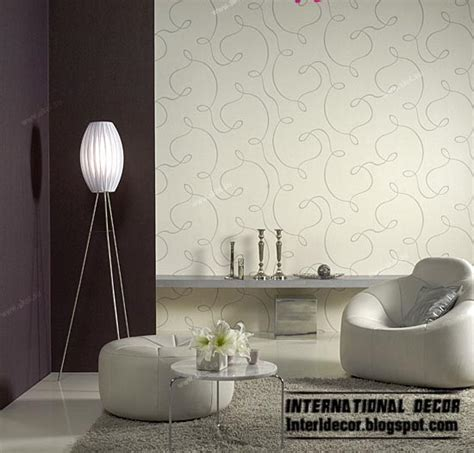 wallpaper for livingroom modern living room wallpaper design ideas interior