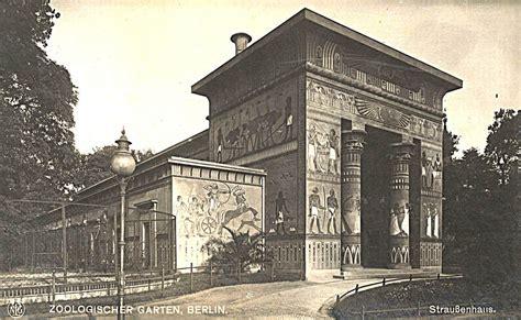 Zoologischer Garten Potsdam berlin zoologischer garten strau 223 enhaus um 1930 berlin