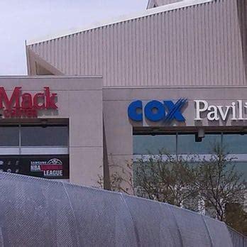 Cox Las Vegas Nv by Cox Pavilion Stadiums Arenas Las Vegas