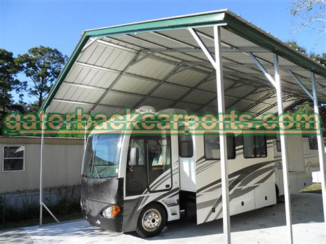 Rv Carport by Understanding Rv Carport Heights And Their Components