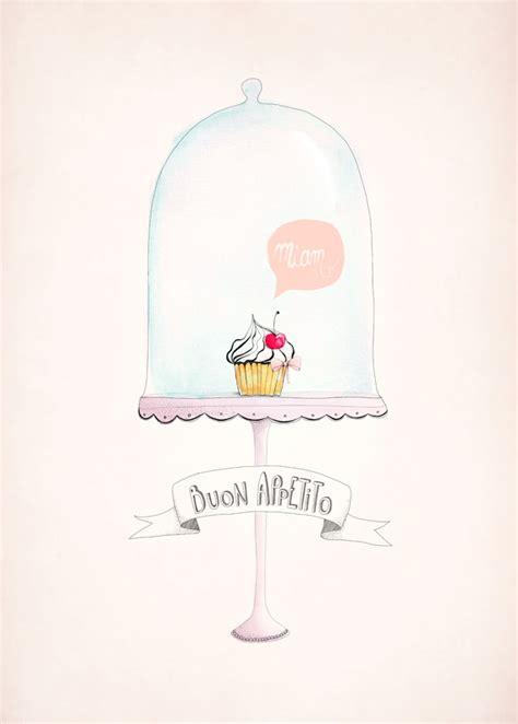 affiche deco cuisine affiche déco cupcake déco cuisine aline caron