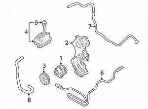 Volkswagen Jetta Wagon Power Steering Pressure Hose  Trans