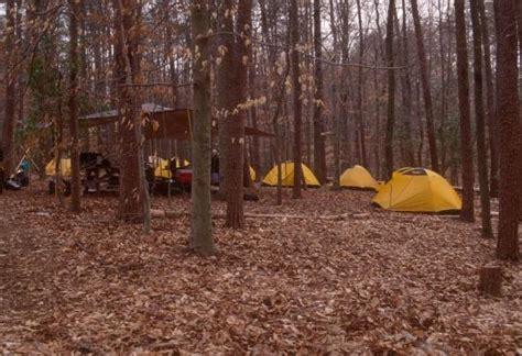 camping  turkey run ridge group va