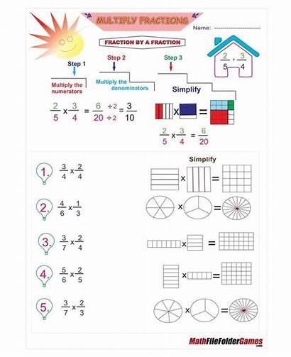Fraction Worksheets Mazes Practice Handful Bundle Maze