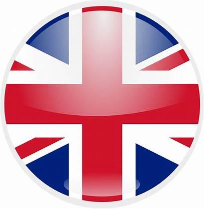 Flag Kingdom United Round British Vector Clipart