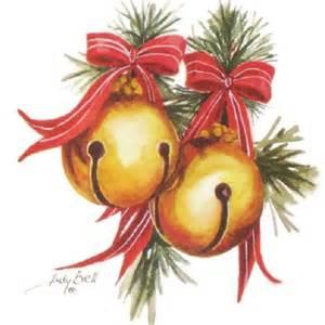 jingle sleigh bells watercolor painting by judithbelloriginals