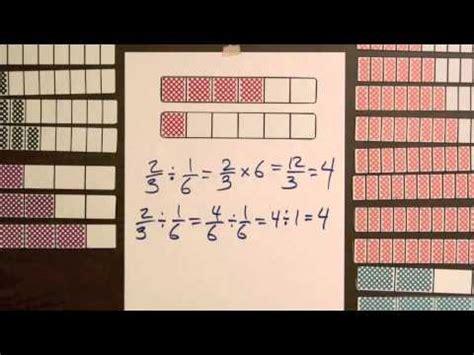division step  model dividing fractions  fractions