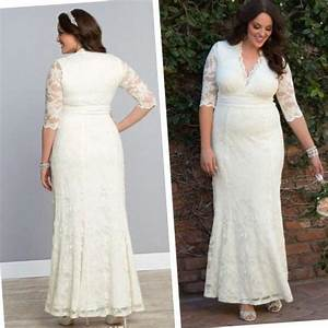 wedding dress with sleeves plus size pluslookeu collection With plus size sleeved wedding dress