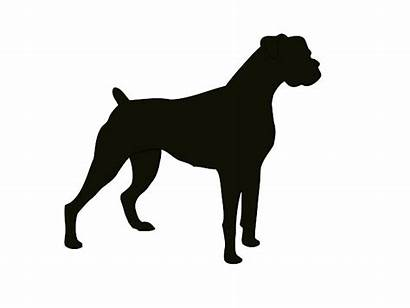 Dog Silhouette Clipart Boxer Clip Bulldog Animal