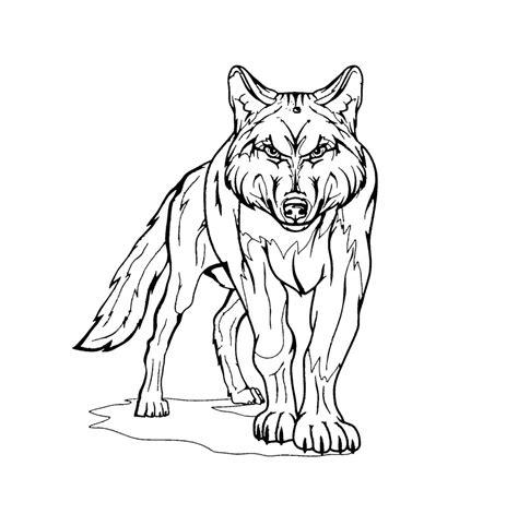 Malvorlage wolf einfach wolf ausmalbilder zum ausdrucken. 20 Wolf Ausmalbild Kostenlos von Tiere - Kids-AusmalbilderTV