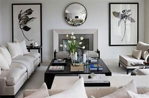 Deco Salon Moderne : d co salon moderne blanc ~ Teatrodelosmanantiales.com Idées de Décoration