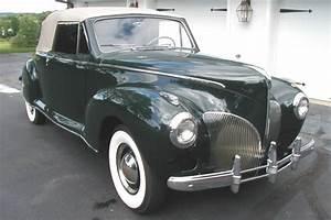 1941 Lincoln Zephyr 2 Door Convertible