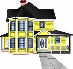 Little Yellow House Clip Art At Vector Clip