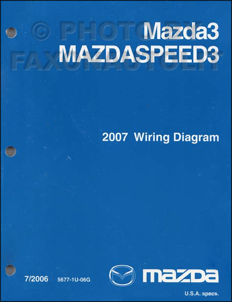 2007 mazda 3 engine wiring diagram 2007 mazda 3 wiring diagram manual original