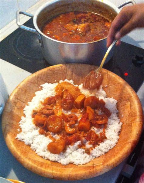 recette de cuisine senegalaise thiou aux crevettes recette sénégalaise recettes
