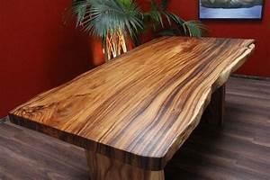 Große Tische 10 Personen : esstisch tisch suar holz massiv natur naturgewachsen 200x108x79 ~ Bigdaddyawards.com Haus und Dekorationen