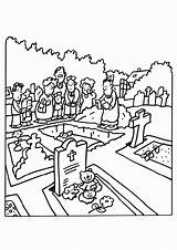 Funeral Coloring Pages Previous sketch template