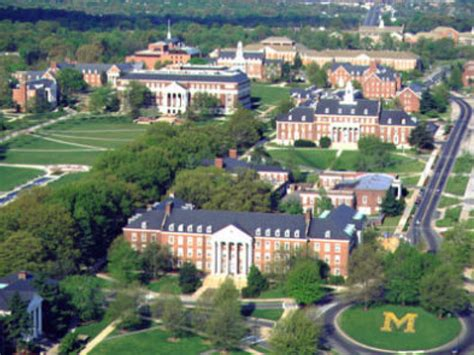 College Park by Really Umd Towson Ranked Among Ugliest Cuses