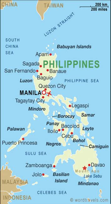 philippines map  philippines satellite images