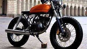 Yamaha Rx 135 Cafe Racer - YouTube
