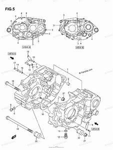 Suzuki Atv 2005 Oem Parts Diagram For Crankcase