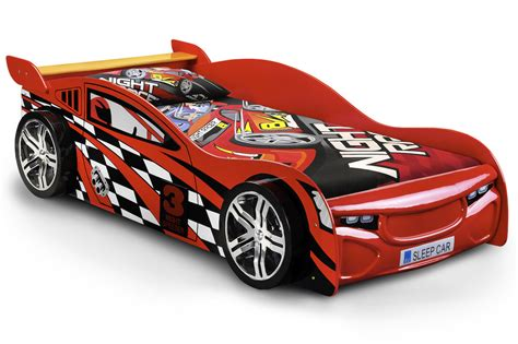 red racing sports car bed frame ft single racer bed