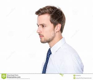 Side Profile Businessman Stock Image of planner