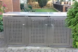 Müllbox Selber Bauen : m lltonnenbox edelstahl muellboxen ~ Lizthompson.info Haus und Dekorationen