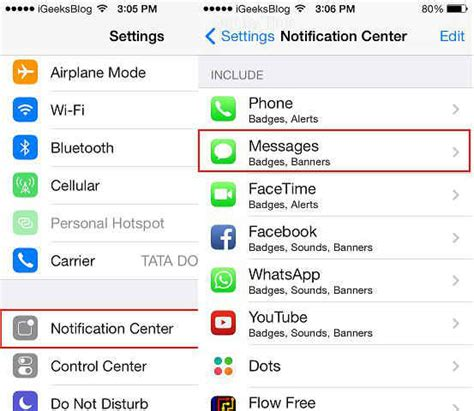 how to turn text messages on iphone how to turn message preview on ios 7 lock screen for