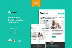 Top 15 amazing business newsletter templates to download for Free online newsletter templates for email