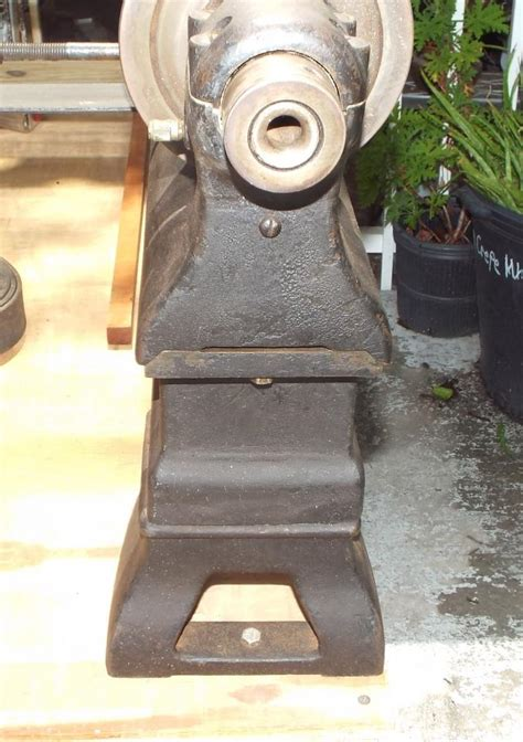 antique cast iron flat top metal  wood lathe  sale