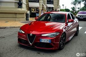 Alfa Romeo Giulia Quadrifoglio Occasion : alfa romeo giulia quadrifoglio 10 january 2018 autogespot ~ Gottalentnigeria.com Avis de Voitures