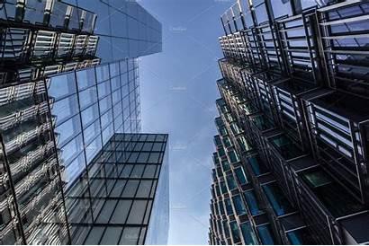 Buildings Glass London Building Skyline Creativemarket Shard