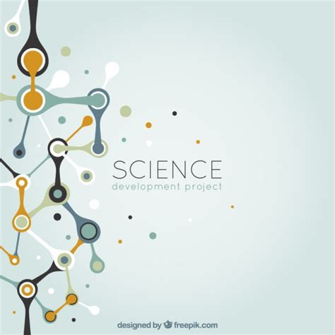 Abstract Science Background Vector  Free Download