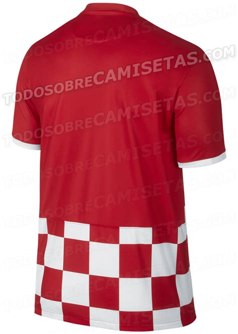 Croatia World Cup Shirt For From Nike Leaked Photos