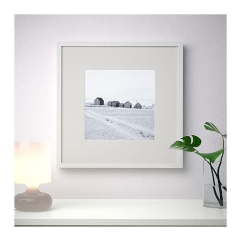 ribba frame white 50x50 cm ikea