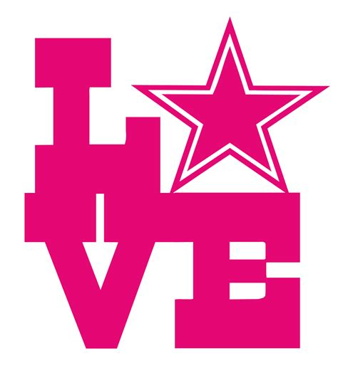 Pink Dallas Cowboys Star Logo  wwwpixsharkcom Images