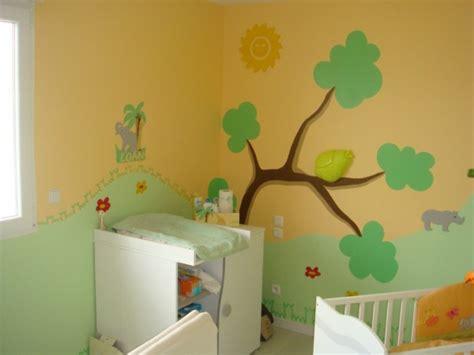 chambre de bébé jungle revger com chambre bébé décoration jungle idée