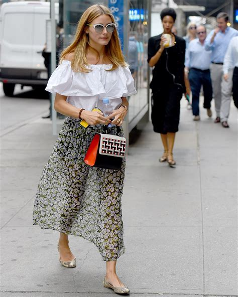 Olivia Palermo Casual Style   Out in NYC, August 2015