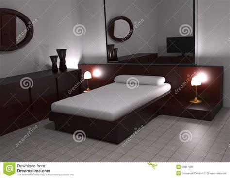 chambre à coucher moderne image libre de droits image