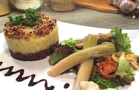 recette de cuisine creole hachis parmentier de canard et ses crudités