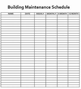 Building An Org Chart In Word Building Maintenance Schedule Template Free Word Templates