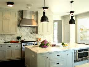 country kitchen backsplash rubbed bronze yoke pendants transitional kitchen