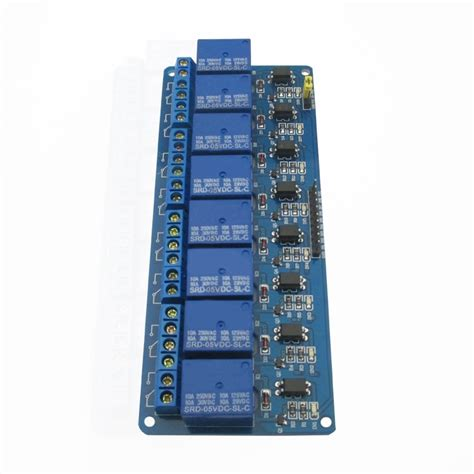 Way Relay Module Control Board With Optocoupler