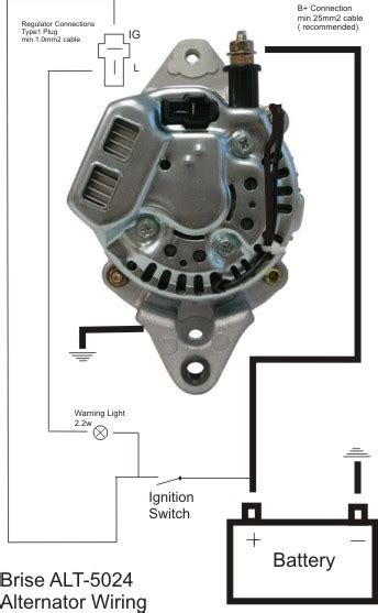 brise alternator wiring diagram denso 5021s alternator brise electronics