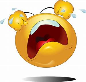 Crying Emoticons - ClipArt Best