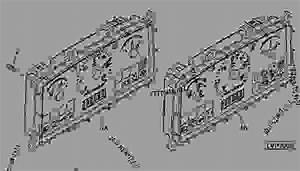 Instrument Panel - Tractor John Deere 5525