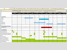 An Annual Marketing Timeline For Your Business [Free